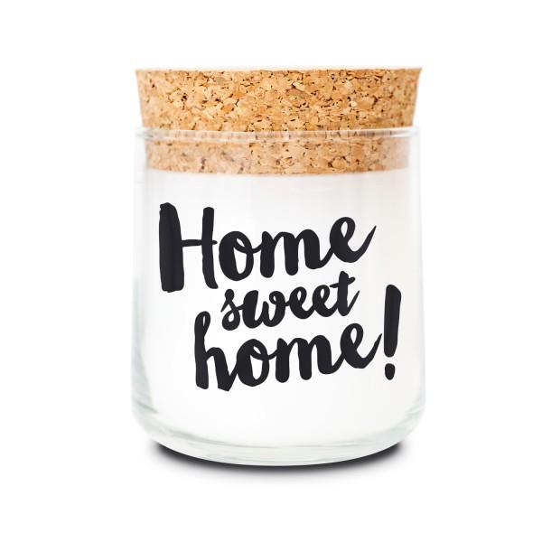 Duftkerzenglas - Home sweet Home