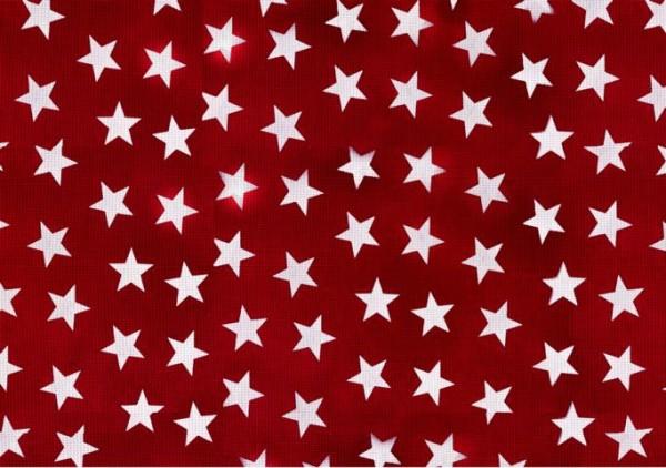 Tischsets Miami Druck Little Stars Red White 30/45