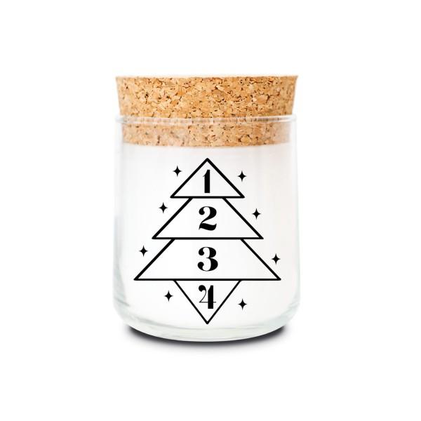 Duftkerzenglas - Adventskerze