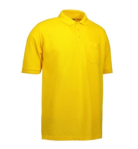 Klassisches Herrenpoloshirt | Tasche