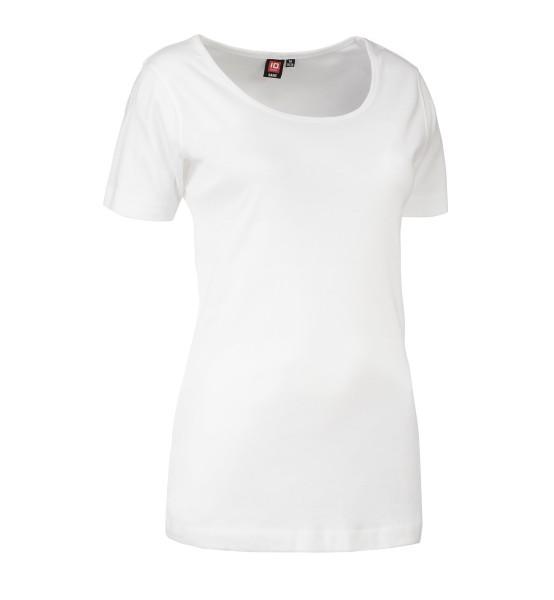 1x1 Geripptes Damen T-shirt