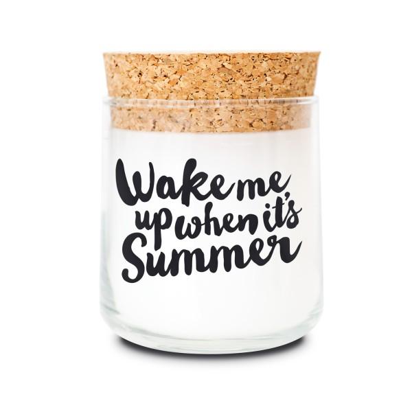 Duftkerzenglas - Wake me up when it's Summer